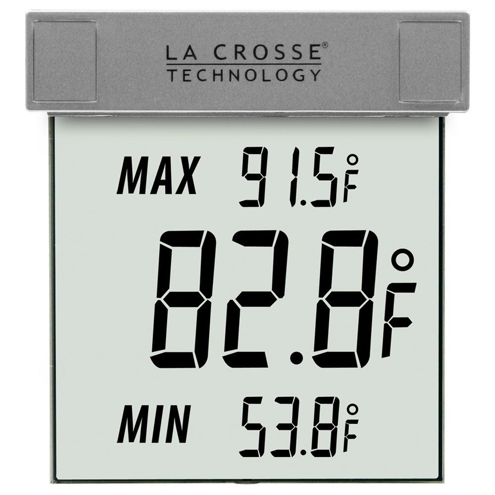 Digital Window Outdoor Thermometer with Minimum/Maximum