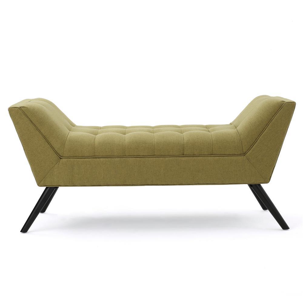 Demi Green Bench (23.50 in. x 52 in. x 19.50 in.)