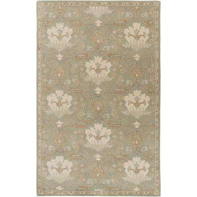 Maximian Moss 4 ft. x 6 ft. Indoor Area Rug