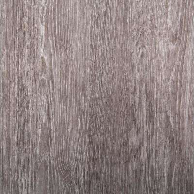 26 in x 78 in Oak Sheffield Pearl Grey Self-adhesive Vinyl Film for Furniture & Door Renovation/Decoration