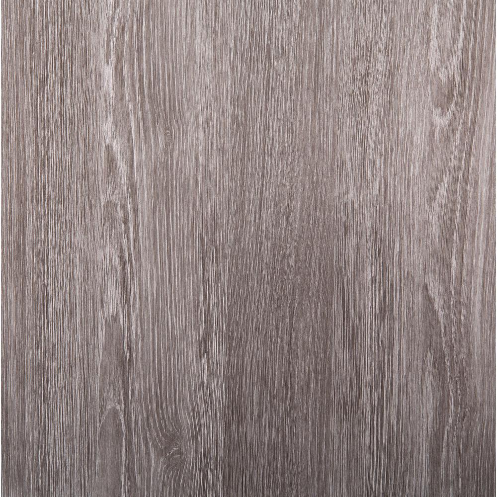 26 in x 78 in Oak Sheffield Pearl Grey Self-adhesive Vinyl Film for Furniture & Door Renovation/Decoration