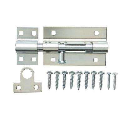 5 in. Zinc-Plated Heavy Duty Barrel Bolt