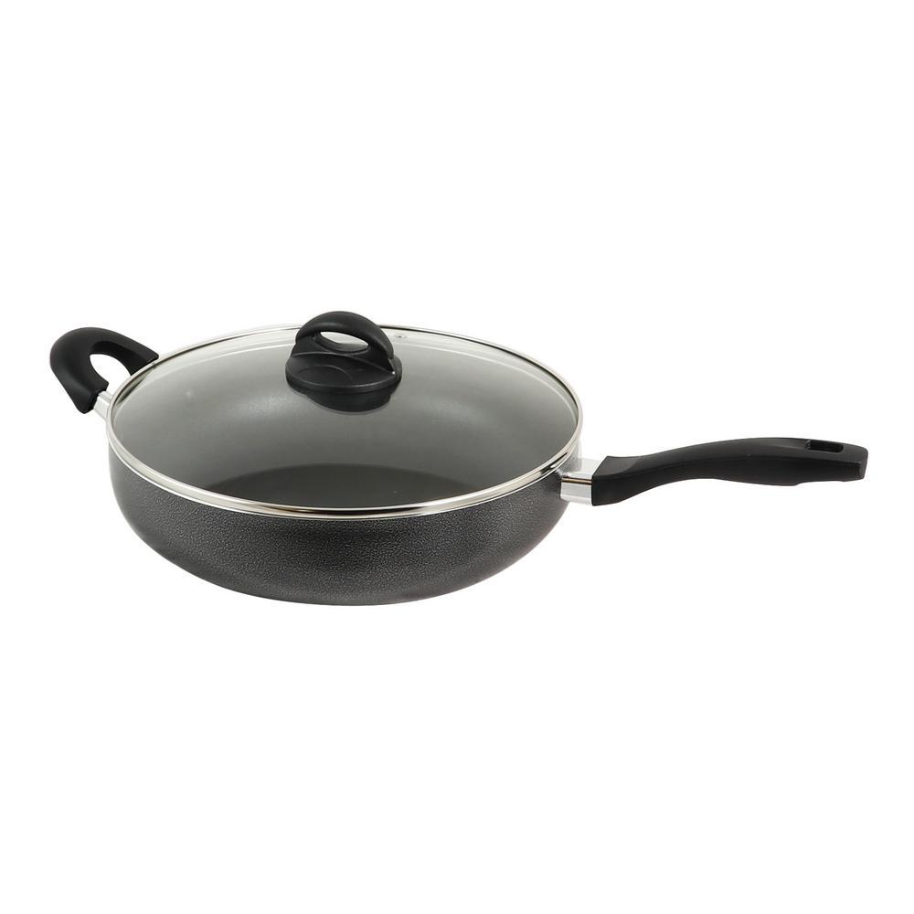 Clairborne 5 Qt. Aluminum Saute Pan with Lid