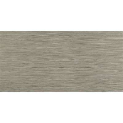 Metro Charcoal 12 in. x 24 in. Glazed Porcelain Floor and Wall Tile (16 sq. ft./case)