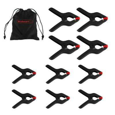 Assorted Spring Clamps (10-Piece)