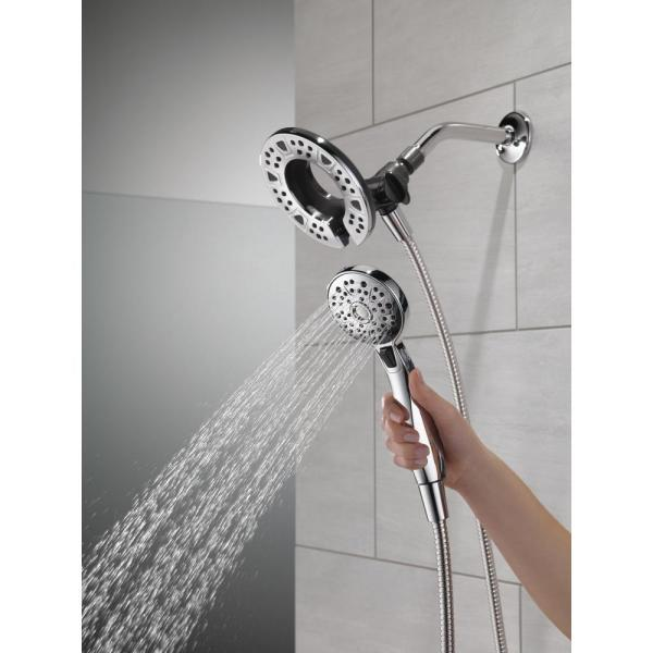 * Delta In2ition 4-Setting Two-in-One Shower 2-in-1 75491 NEW