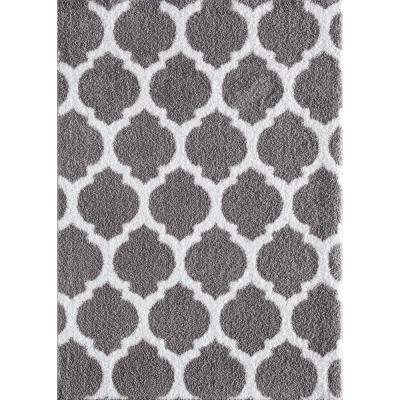 Seyward Titanium 5 ft. x 7 ft. Area Rug