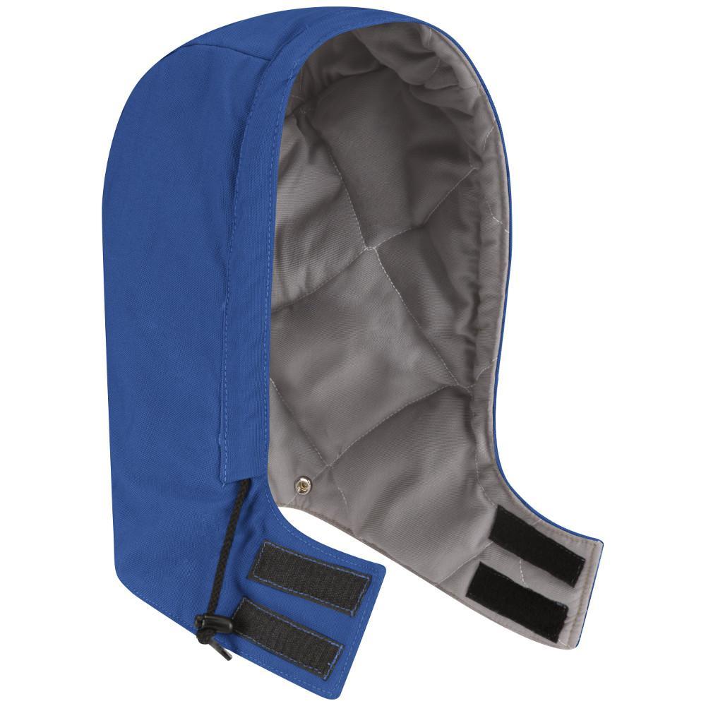 EXCEL FR ComforTouch Men's Medium Royal Blue Universal Fit Snap-On Hood