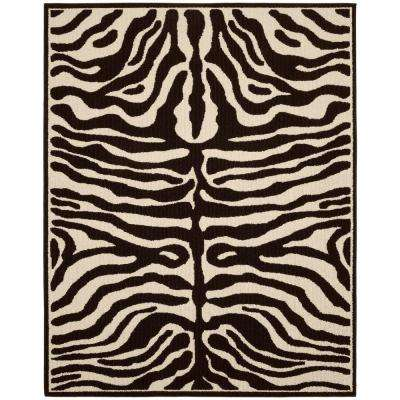 Safari Putty/Ivory 8 ft. x 10 ft. Area Rug