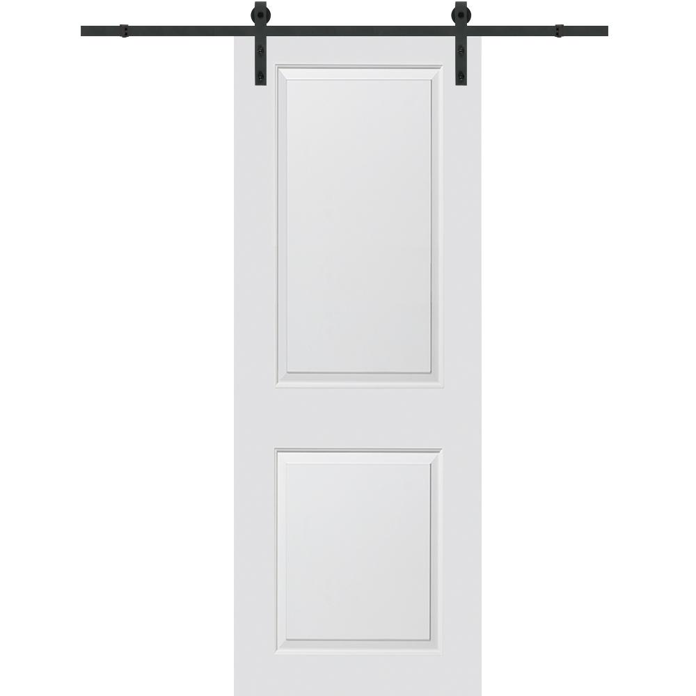 MMI Door 32 in. x 84 in. Cambridge Molded Solid Core Primed MDF Smooth