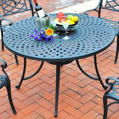 Sedona Cast Aluminum Outdoor Dining Table