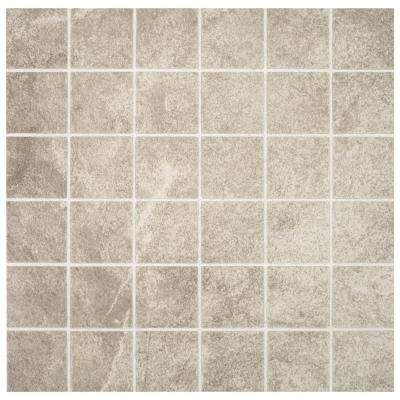 Portland Stone Gray 12 In X 6 35 Mm Ceramic Mosaic Tile