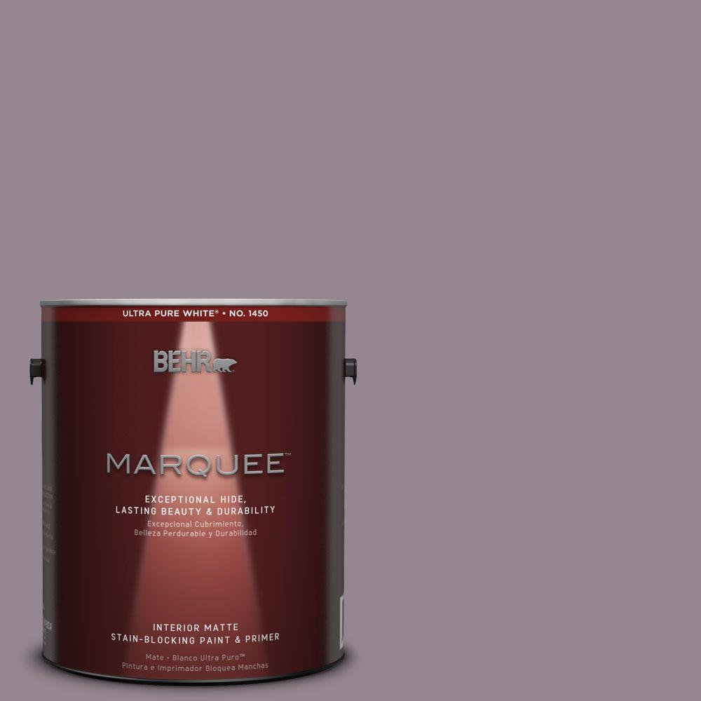 Behr Marquee 1 Gal Mq1 32 Cinema Screen One Coat Hide Matte