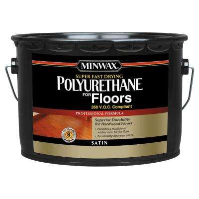 2.5 gal. Satin Super-Fast-Drying Polyurethane for Floors