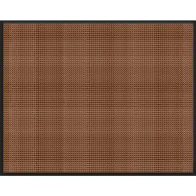 WaterGuard Dark Brown Snow Mobile 45.5 in. x 60 in. Landing Pad