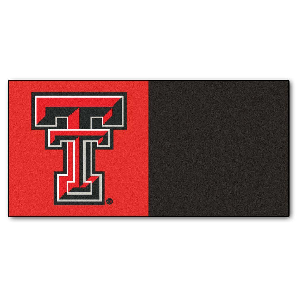 NCAA - Texas Tech University Red and Black Nylon 18 in.