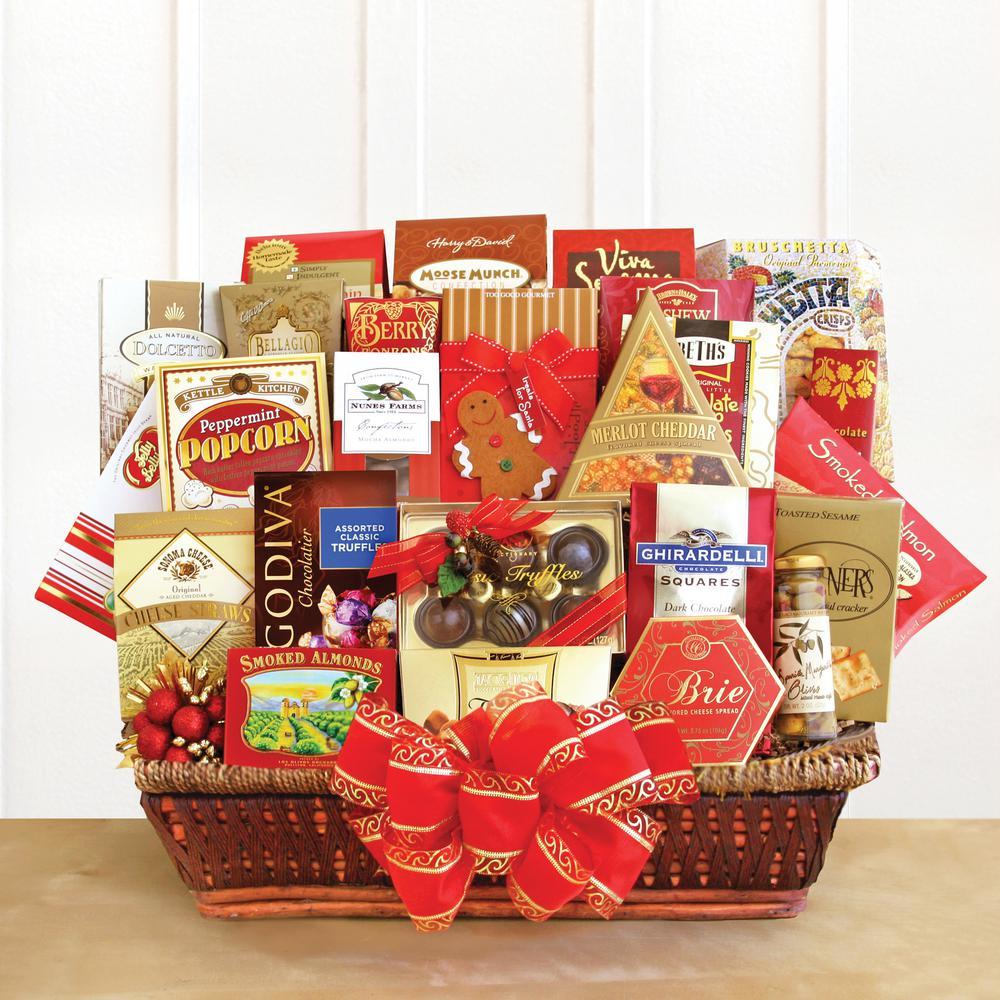Holiday Extravaganza Products Gift Basket