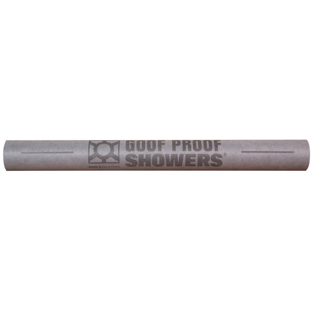 Groof Proof Showers Goof Proof Water Proofing Sheet Membrane 3 ft. 3 in. x 39 ft. 5 in.