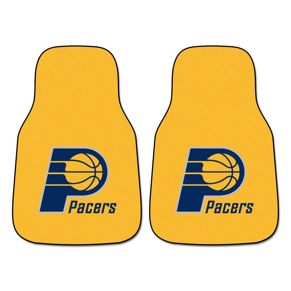 Fanmats Indiana Pacers 18 In X 27 In 2 Piece Carpeted