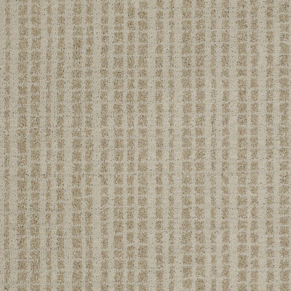 Martha Stewart Living Buckley Ridge - Color Snail Shell 6 in. x 9 in. Take Home Carpet Sample-DISCONTINUED