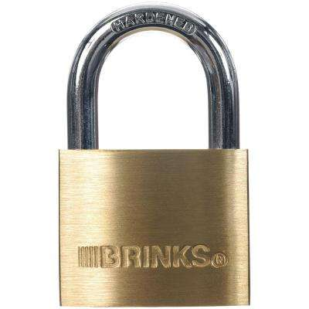1-9/16 in. (40 mm) Solid Brass Keyed Lock