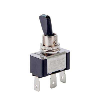 30 Amp Green LED Illuminated Toggle Switch