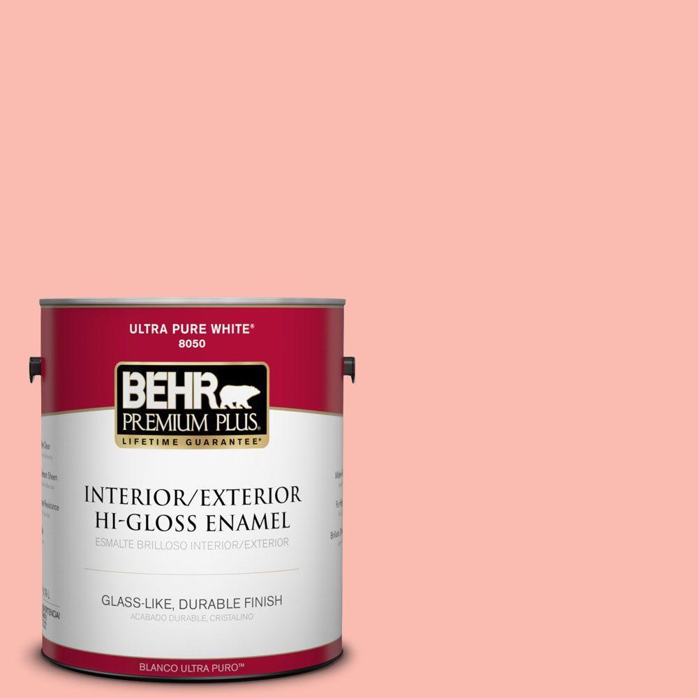 1-gal. #190C-3 Sweet Nectar Hi-Gloss Enamel Interior/Exterior Paint