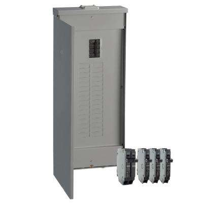 200 Amp 32-Space 40-Circuit Outdoor Main Breaker Load Center Value Kit