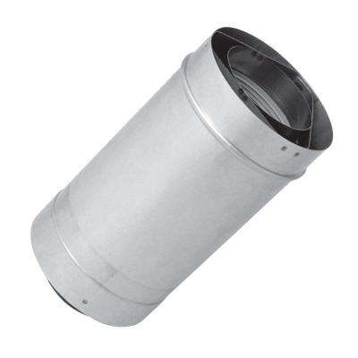 24 in. Vent Length 3 in. x 5 in. Stainless Steel Concentric Venting for Indoor Tankless Gas Water Heaters