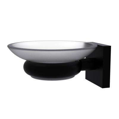 Montero Collection Wall Mounted Soap Dish in Matte Black
