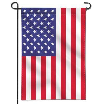 18 in. x 12.5 in. Double Sided Premium USA United States Decorative Garden Flags Weather Resistant Double Stitched