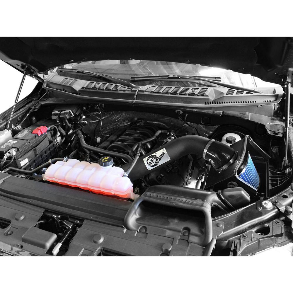 Afe Power Magnum Force Stage 2 Pro 5r Cold Air Intake System For Ford F 150 15 18 V8 5 0l