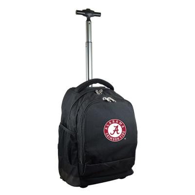 Denco NCAA Alabama 19 in. Black Wheeled Premium Backpack