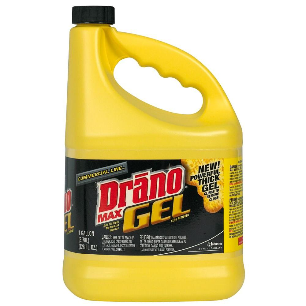 Drano 128 oz. Max Commercial Line Clog Remover (4-Pack)