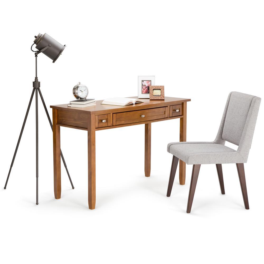 Simpli Home Acadian Desk Brown Price Tracking