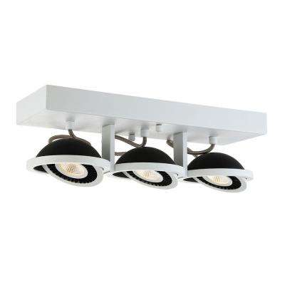 Vision Collection 3-Light White LED Surface Mount
