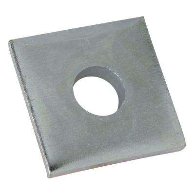1/2 in. Square Washer - Silver Galvanized (5-Pack)