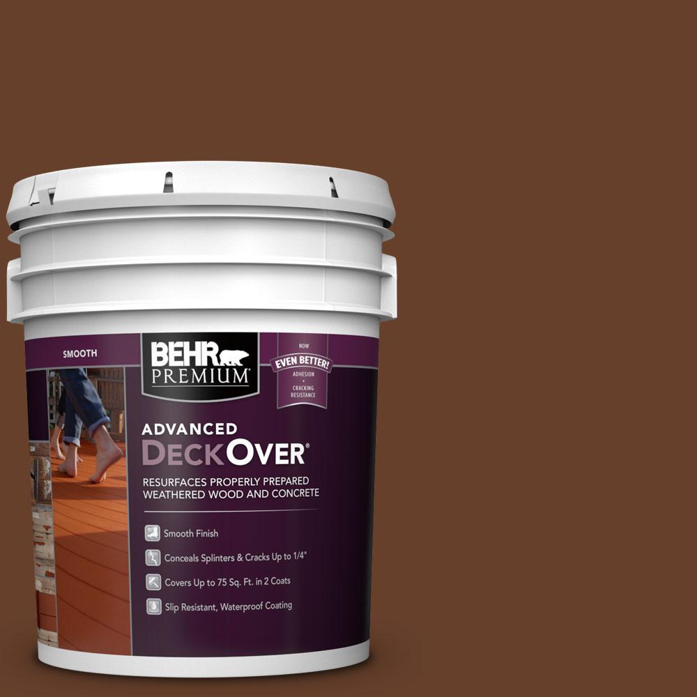 Home Depot Exterior Paint Prices: BEHR Premium Advanced DeckOver 5 Gal. #SC-116 Woodbridge
