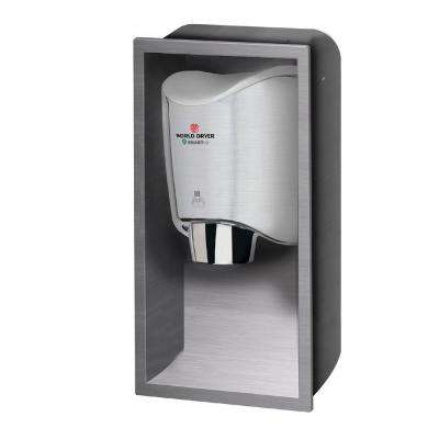 Recess Kit for SMARTdri / SMARTdri Plus Hand Dryers in Brushed Stainless Steel