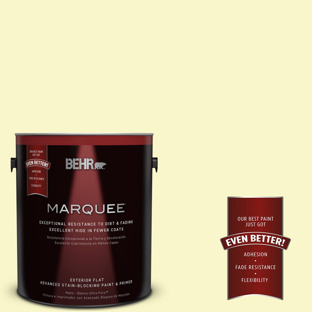 BEHR MARQUEE 1-gal. #PPL-20 Dancing Butterfly Flat Exterior Paint