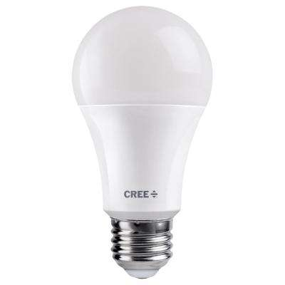 75W Equivalent Bright White (3000K) A19 Dimmable Exceptional Light Quality LED Light Bulb