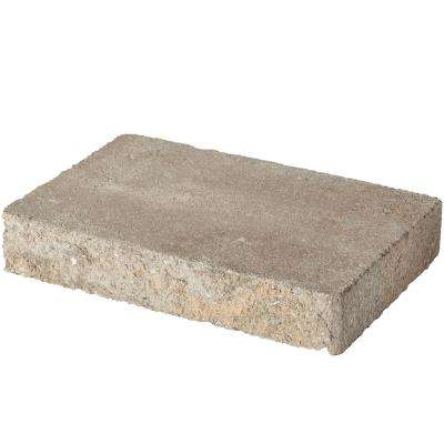 8 in. L x 11.87 in. W x 2 in. H Carolina Blend Concrete Retaining Wall Cap (120-Piece/119 sq. ft./Pallet)