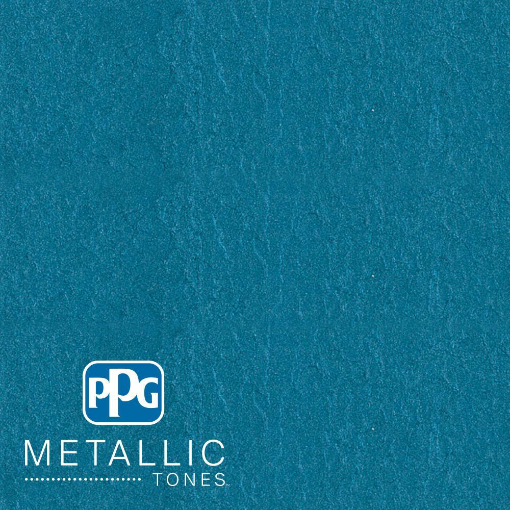 1  gal. #MTL113 Abundant Blue Metallic Interior Specialty Finish Paint
