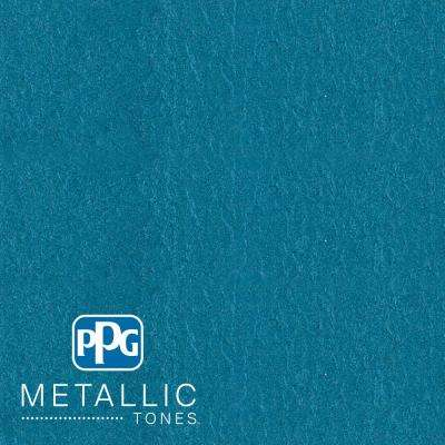 1 qt.#MTL113 Abundant Blue Metallic Interior Specialty Finish Paint