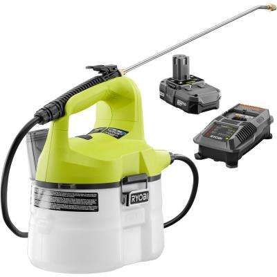 ONE+ 18-Volt Lithium-Ion Cordless Chemical Sprayer - 1.3 Ah Battery and Charger Included