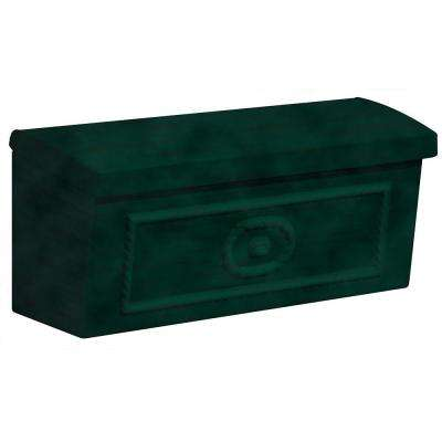 4500 Series Green Surface-Mounted Townhouse Mailbox