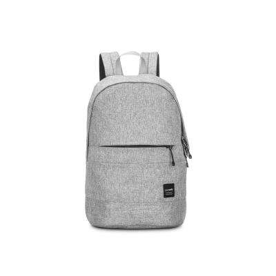 Slingsafe 17 in. Tweed Grey Backpack with Laptop Compartment