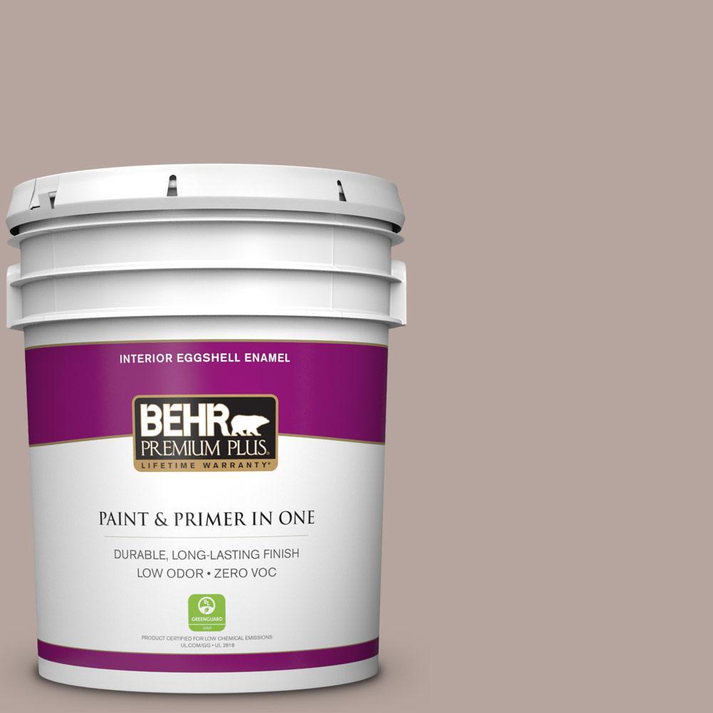 BEHR Premium Plus 5-gal. #BNC-12 Mauvelous Eggshell Enamel Interior Paint
