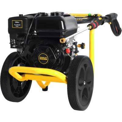 3400 psi 2.5 GPM Gas Pressure Washer Powered