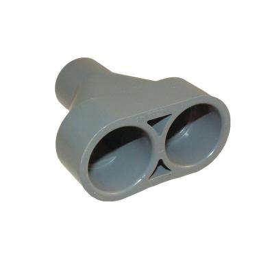 3/4 in. Non-Metallic Y-Adapter for 5511 Floor Box